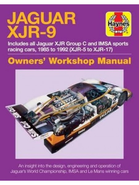 JAGUAR XJR-9 OWNER'S WORKSHOP MANUAL