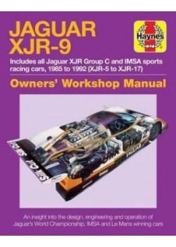 JAGUAR XJR-9 OWNER'S WORKSHOP MANUAL