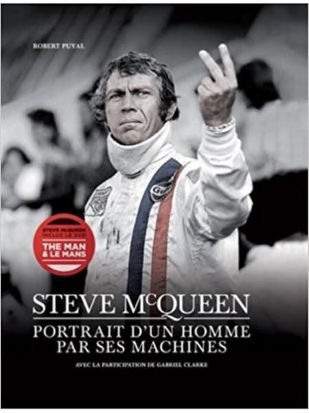 STEVE MCQUEEN PORTRAIT D'UN HOMME PAR SES MACHINES LIVRE +DVD
