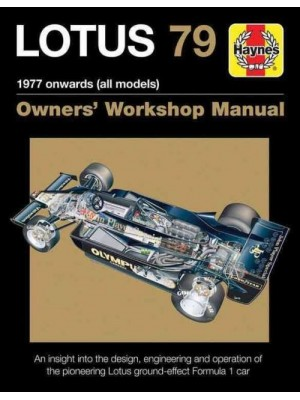 LOTUS 79 OWNER'S WORKSHOP MANUAL
