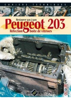 PEUGEOT 203 - REFECTION BOITE DE VITESSE