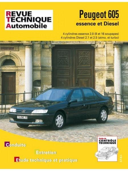 RTA704 PEUGEOT 605 4 CYL ESSENCE ET DIESEL 2.1,2.5 DE 1990/96