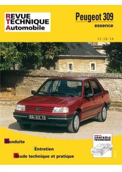 RTA706 PEUGEOT 309 ESSENCE 1.1, 1.3, 1.4 DE 1986 A 1991