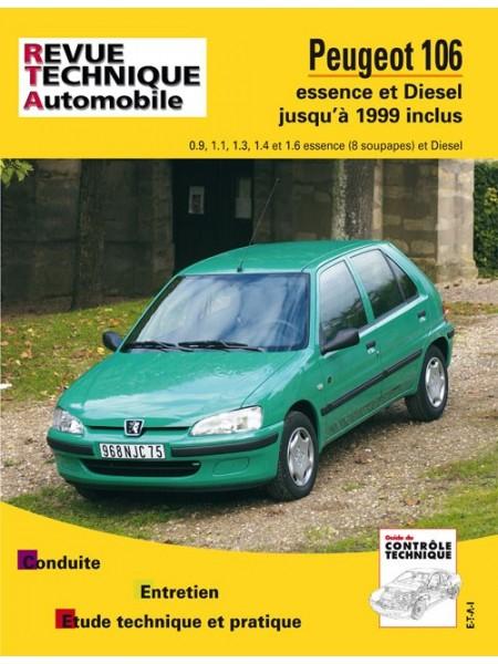 RTA539 PEUGEOT 106 ESS ET DIESEL JUSQU'AU MODELE 1999 INCLUS