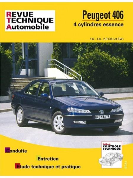 RTA592 PEUGEOT 406 4 CYL. ESSENCE (XU ET EW) DE 1996/2000