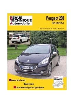 RTAB787 PEUGEOT 208 2012-13 1.4 HDI / 1.6 HDI