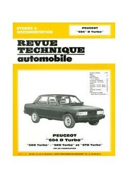 RTA411 PEUGEOT 604D TURBO, GRD, SRD DE 1979/1986