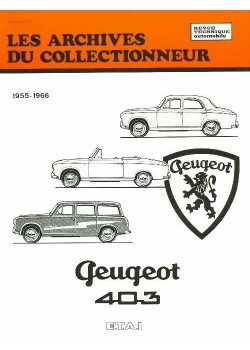 ARC21 PEUGEOT 403 8 ET 7 CV (1955-1966)