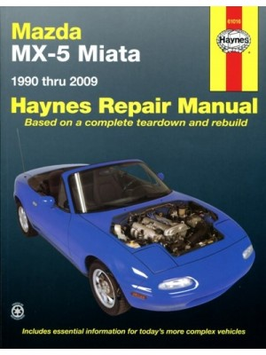 MAZDA MX5 MIATA  1990-2009 - HAYNES REPAIR MANUAL