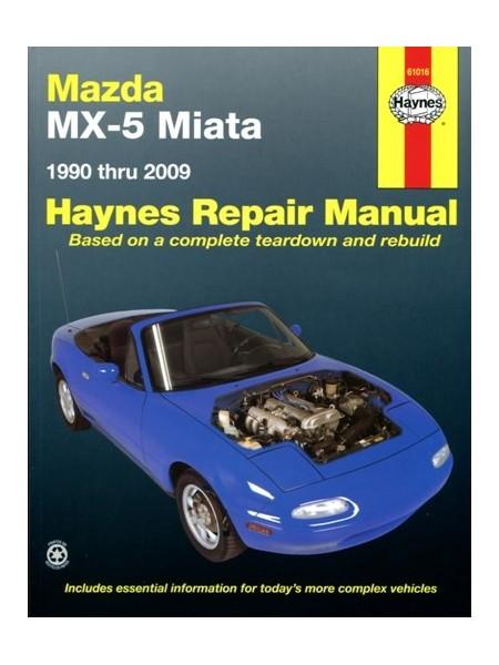MAZDA MX5 MIATA  1990-2009 - HAYNES REPAIR MANUAL