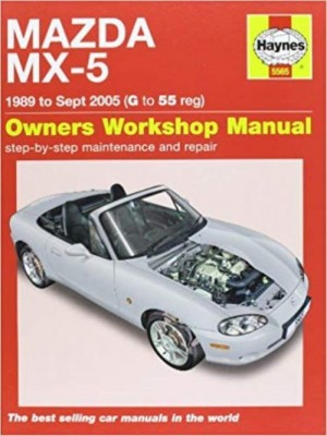 MAZDA MX-5 (89 to sept 05) WORKSHOP MANUAL