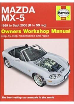 MAZDA MX-5 (89 to sept 05) WORKSHOP MANUAL