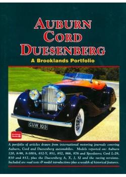 AUBURN CORD DUESENBERG  - A BROOKLANDS PORTFOLIO