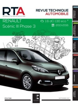 RTA818 RENAULT SCENIC III Ph.3 1,6DCi 130ch  ECO 2 2013-2016