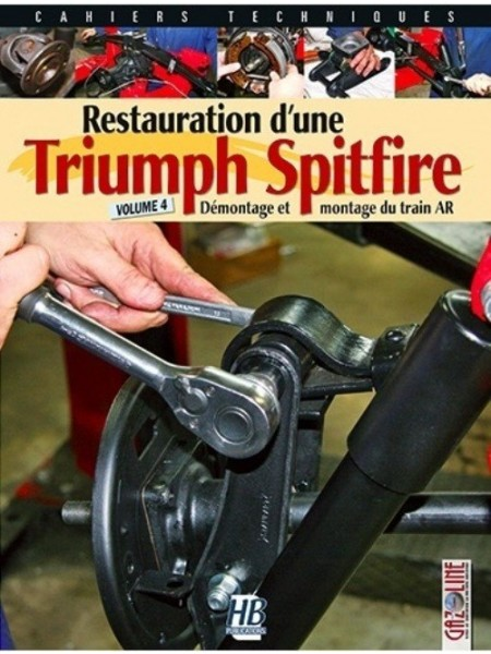 RESTAURATION D'UNE TRIUMPH SPITFIRE VOLUME 4
