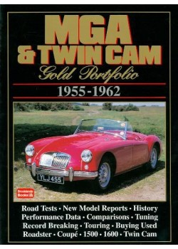 MG MGA & TWIN CAM 1955-1962 GOLD PORTFOLIO