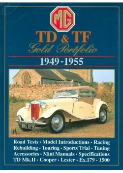 MG TD & TF 1949-1955 GOLD PORTFOLIO