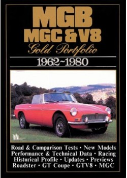 MGB MGC & V8 GOLD PORTFOLIO 1962-1980