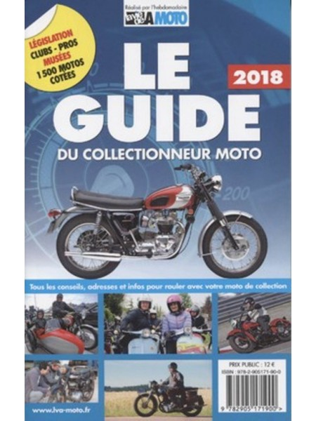 LE GUIDE DU COLLECTIONNEUR MOTO 2018