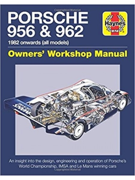 PORSCHE 956 & 962 OWNER'S WORKSHOP MANUAL