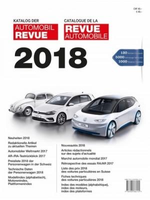 REVUE AUTOMOBILE SUISSE 2018 Katalog der Automobil Revue