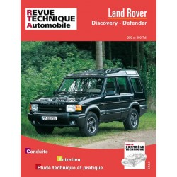 RTA564 LAND ROVER DEFENDER ET DISCOVERY TDI 200 ET 300 1990-98