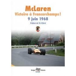 MCLAREN VICTOIRE A FRANCORCHAMPS 9 JUIN 1968