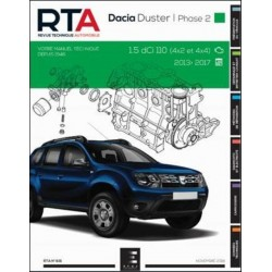 RTA831 DACIA DUSTER BREAK I Ph.2 1.5DCi 110ch 4x2 & 4x4 2013-17