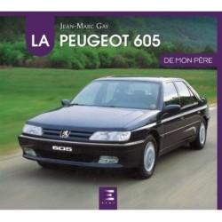 livre-peugeot-605-etai-jean-marc-gay-français