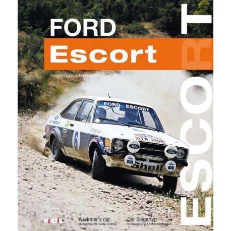 livre-ford-escort-winner's-car-mcklein-davenport-klein-anglais-allemand