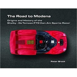 livre-road-to-modena-shelby-de-tomaso-p70-can-am-sports-racer-brock-racing-brock-anglais