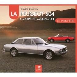 livre-peugeot-504-coupé-cabriolet-etai-chauvin-français