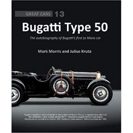 livre-bugatti-type-50-autobiography-bugatti's-first-le-mans-car-porter-press-international-kruta-morris-anglais