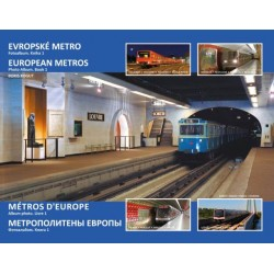 EUROPEAN METROS PHOTO ALBUM BOOK 1