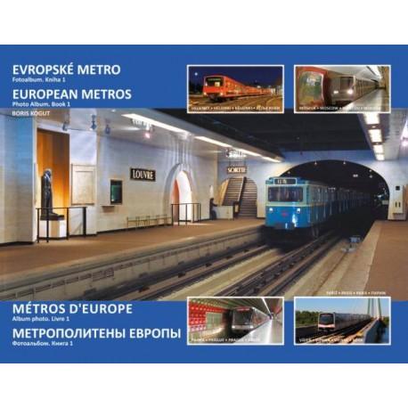 EUROPEAN METROS PHOTO ALBUM BOOK 1