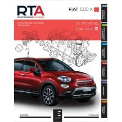 RTA834 FIAT 500X 1.6JTD 120ch 2014-2018