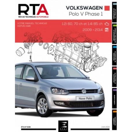 RTA838 VW POLO V (6R) Ph.1 09-2009/05-2014