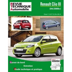 RTAB777 RENAULT CLIO III PHASE 2 1.5 DCI 85 ch