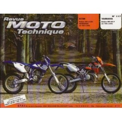 RMT117 KTM ENDURO 250 & 300 GS-EGS-EXC 92-00 / YAMAHA WR 400F 98-00