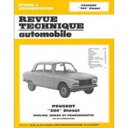 RTA379 PEUGEOT 304 DIESEL (1976-1980)