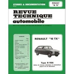 RTA339 RENAULT 16 TX ET TX AUTOMATIQUE 1974-80 OP