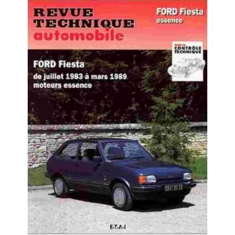 RTA449 FORD FIESTA DE 0.9 A 1.6 XR2 1984-89