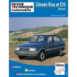 RTA470 CITROEN VISA DIESEL ET C15 D 1984-95
