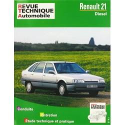 RTA487 RENAULT 21 DIESEL FIN DE FAB°