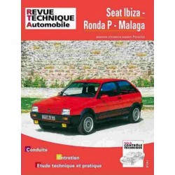 RTA473 SEAT IBIZA, RONDA P, MALAGA ESSENCE 1984-89