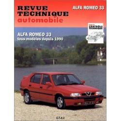 RTA090 ALFA 33, 2 ET 4 ROUES MOTRICES DEPUIS 1990
