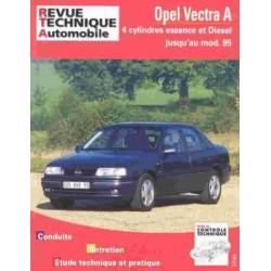 RTA515 OPEL VECTRA A ESSENCE 4 CYL ET DIESEL (ATMO, TURBO) JUSQU'1995