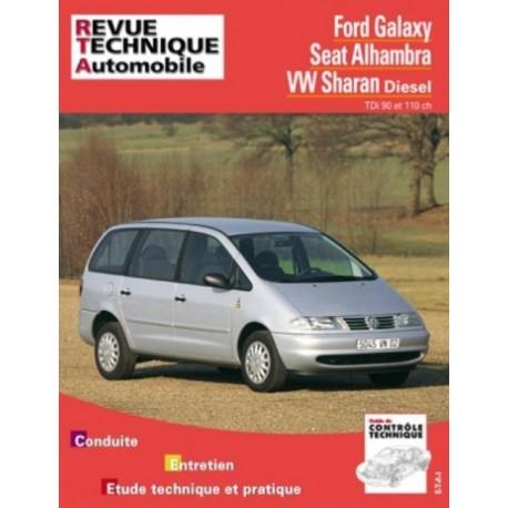 RTA599 FORD GALAXY / VW SHARAN / SEAT ALHAMBRA TDI 90 ET 110 CH