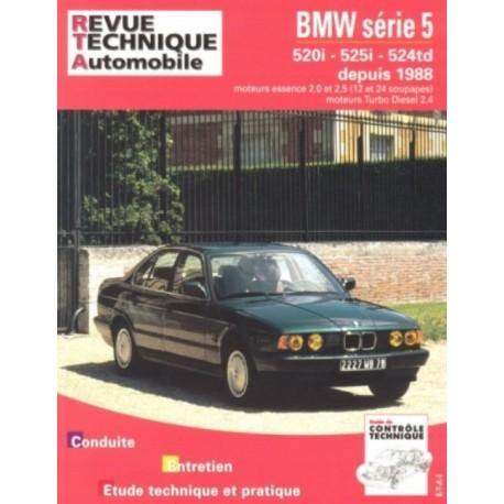 RTA521 BMW SERIE 5 ESSENCE ET DIESEL (1988-91)