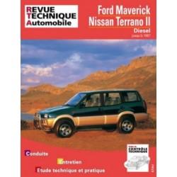 RTA586 FORD MAVERICK / NISSAN TERRANO II DIESEL JUSQU' A 1997